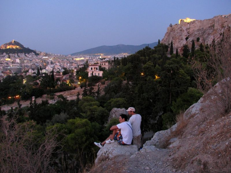 Arios pagos Hill Athens