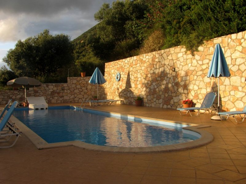 Ithaki hotel pool
