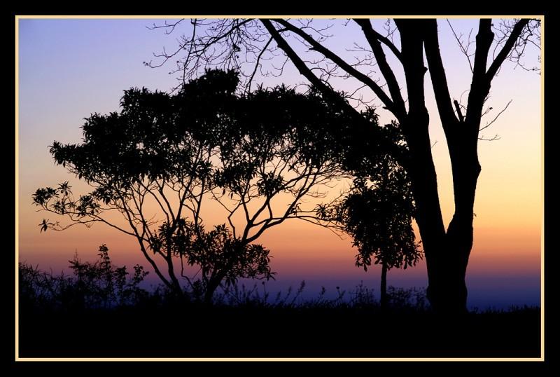 Sonnenaufgang in Tzaneen, Süd-Afrika