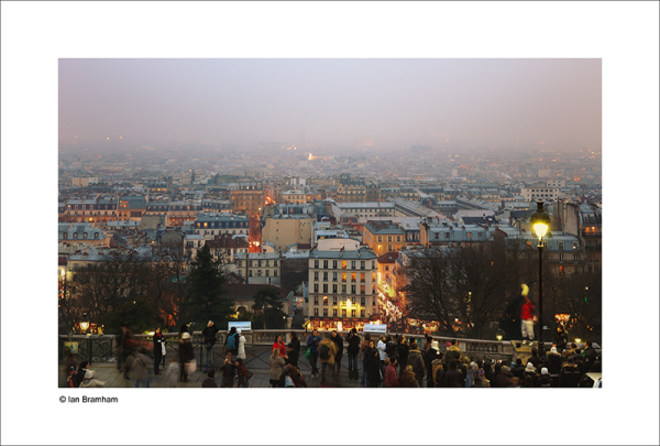 Paris in the Mist