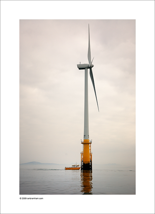 Wind Turbine & Boat