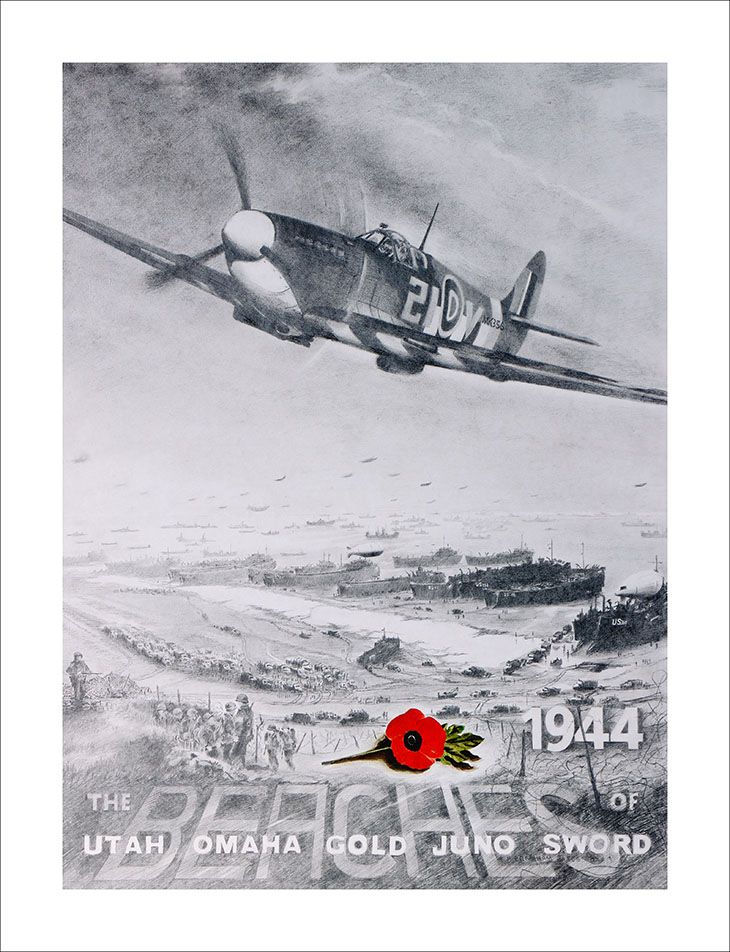 "Tony Bramham - ""D Day, 6th June 1944"""