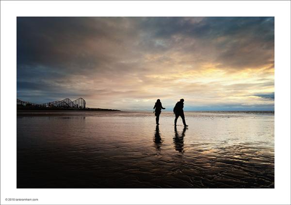 Blackpool Beach - The Roller Coaster