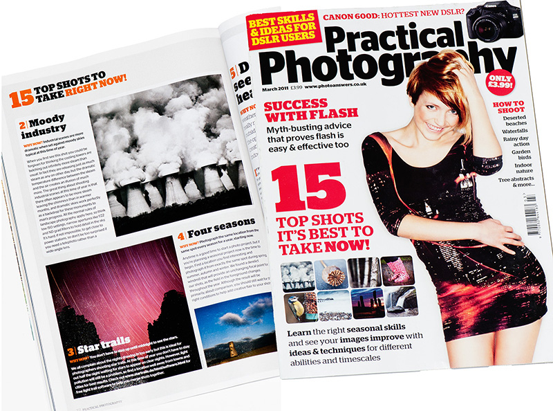 Practical Photography Magazine, March 2011