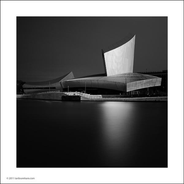 a b&w fine art photo of the Imperial War Museum