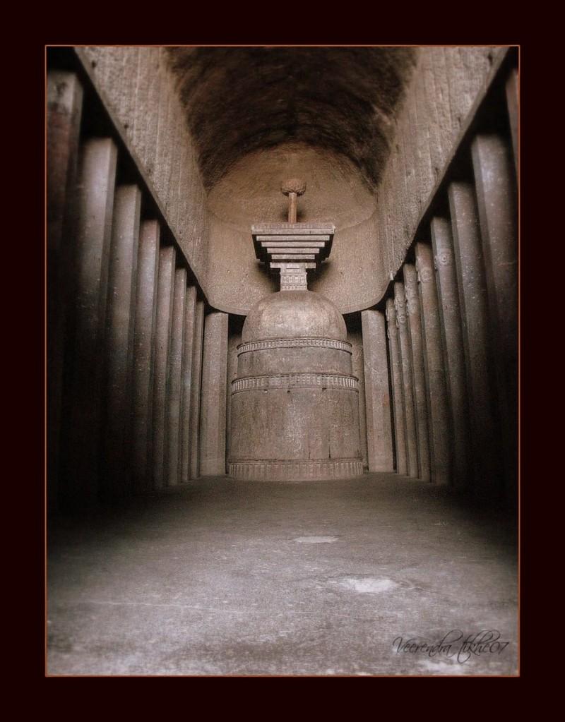 "ancient temple - ""Stupa """