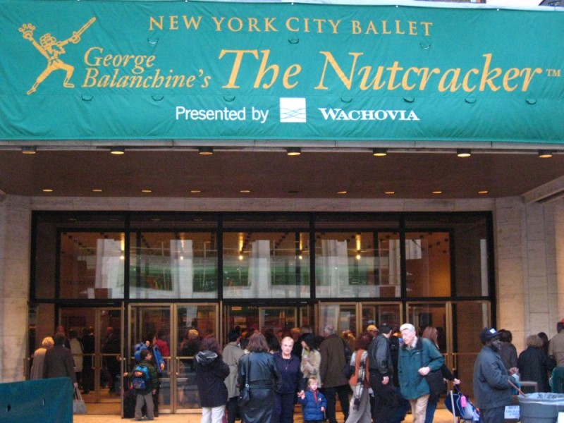 The Awning at Lincoln Center for the Nutcracker