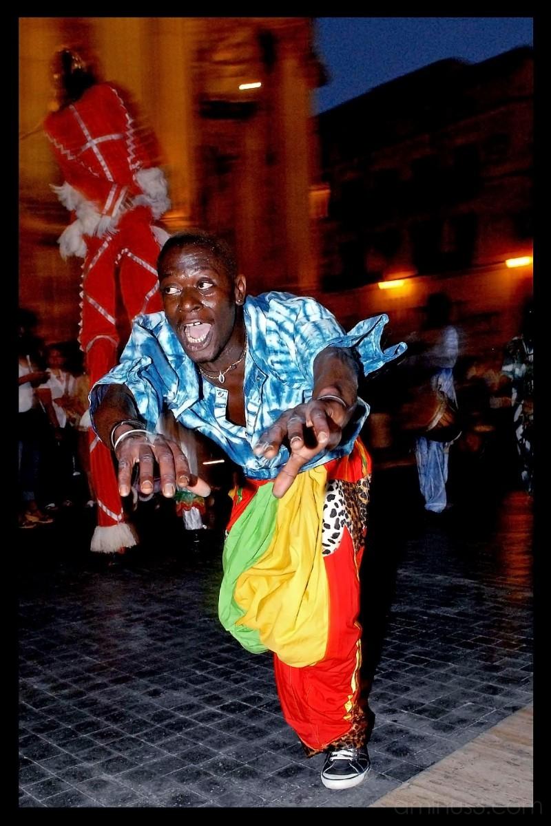 Bailarin Senegales
