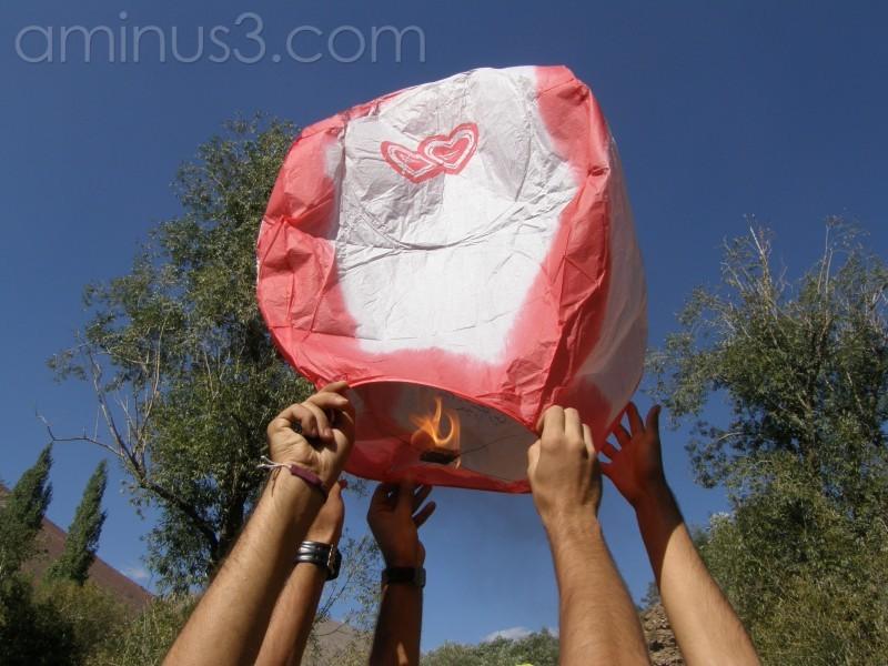 balloon , union and climbing