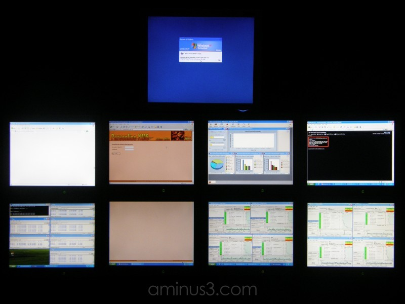 Not IPHONE but is Network Monitoring Tools (LCD'S)