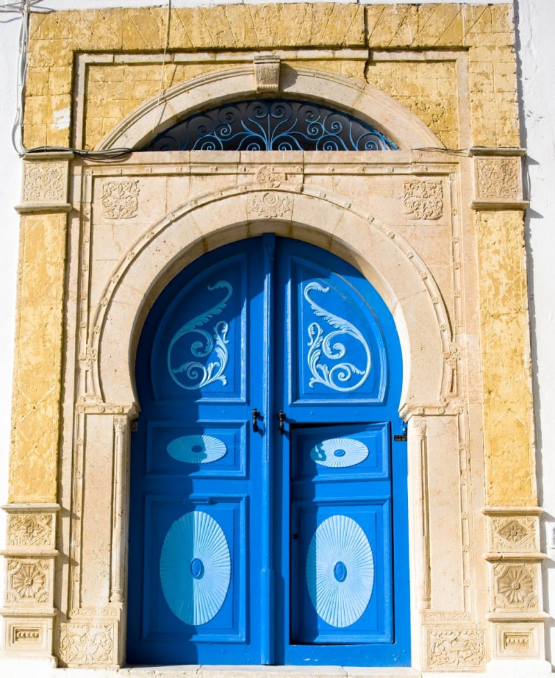 A Tunisian door