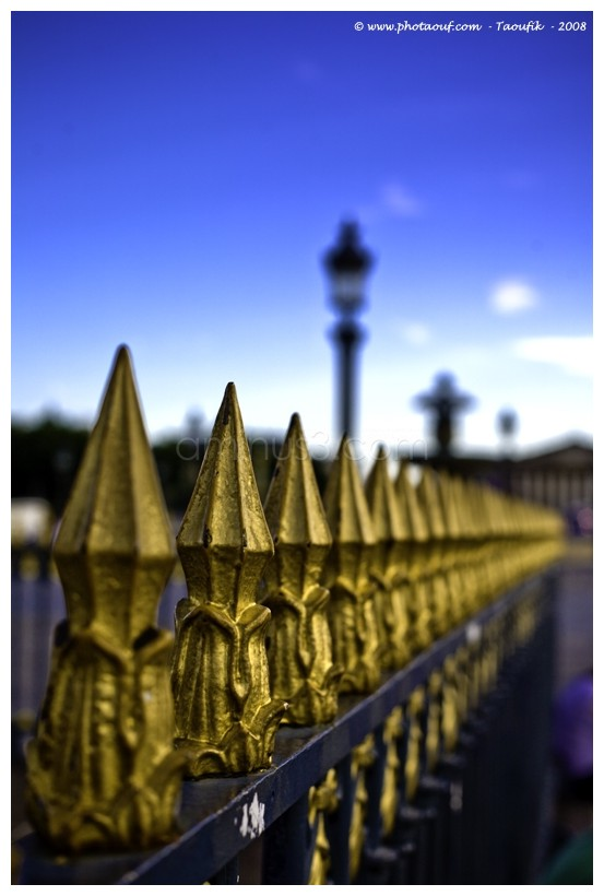 Golden Grill Perspective la concorde Paris