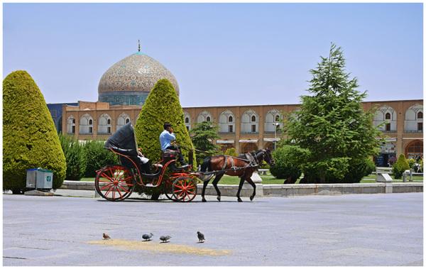 چرخی در اصفهان، هیجده