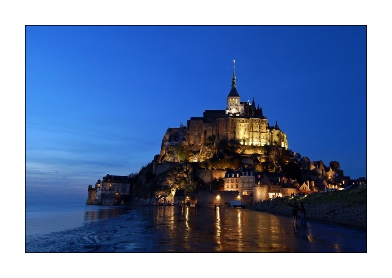 Mont St. Michel  ( In the Evening )
