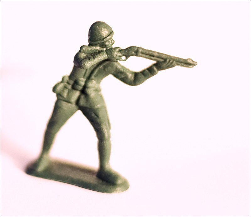 close-up, toy soldier,