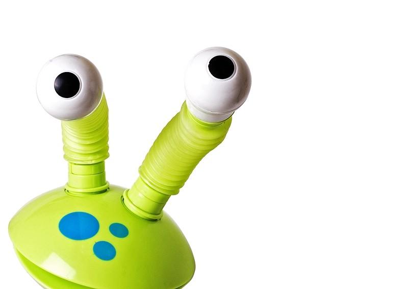 alien white toy