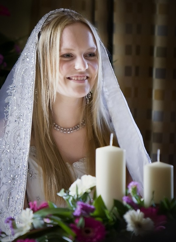 amy wedding bride