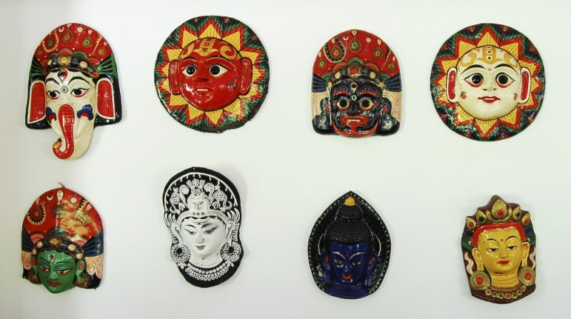 United masks of Nepal