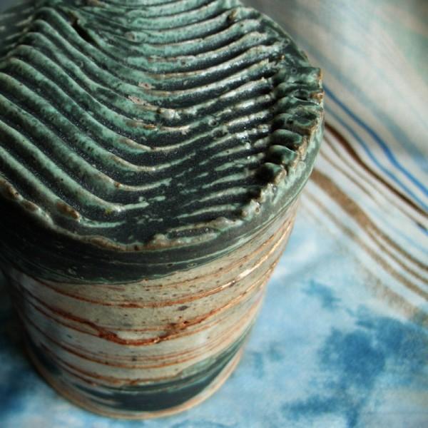 spring-box wheel-thrown ceramic
