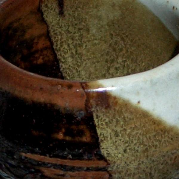 wheel-thrown shot glass ceramics pottery