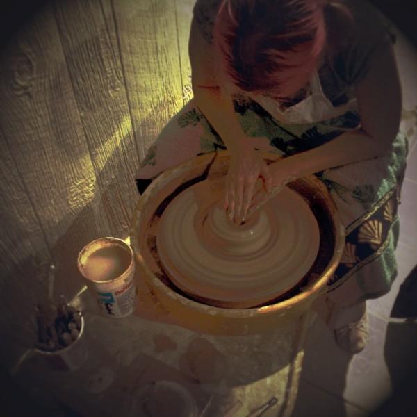 ceramics pottery making bowl