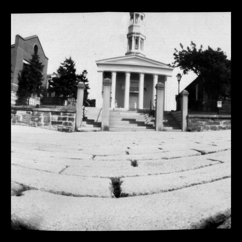 ceramic pinhole camera pottery courthouse