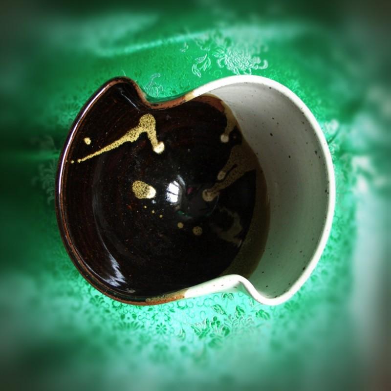 bowl wheel-thrown martini ceramics pottery