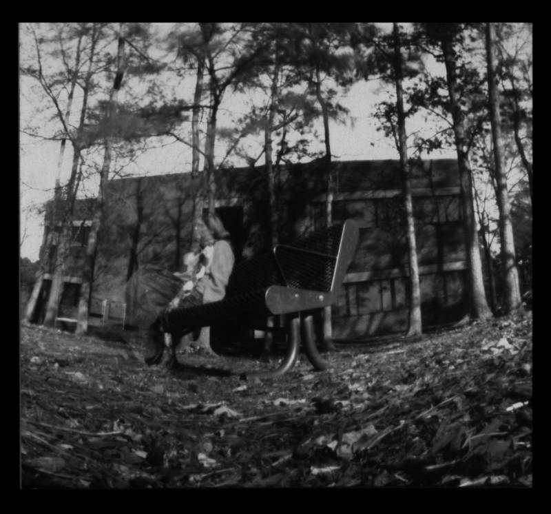 pinhole ceramic camera pottery wheel-thrown b&w