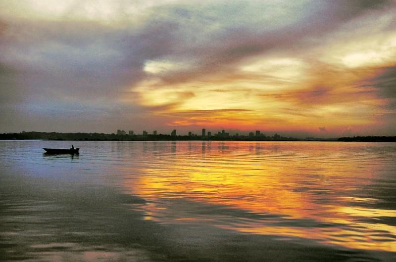Sunrise at SK Sungai Melayu, Gelang Patah