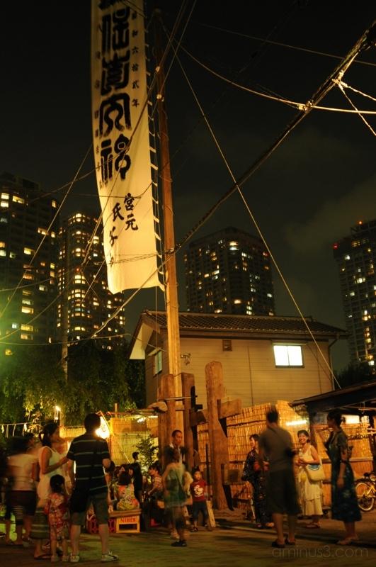 月島 祭 ビル tsukishima festival matsuri tokyo 東京
