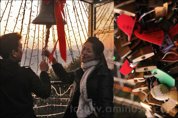 sea couple bell lock enoshima 鐘 도쿄 연인 japonisant