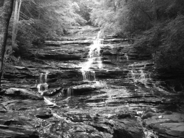 Photo of Minnehaha Falls, near Lake Rabun.
