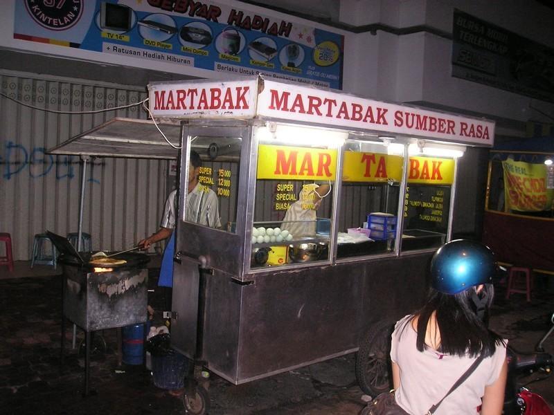 Martabak telur (egg)