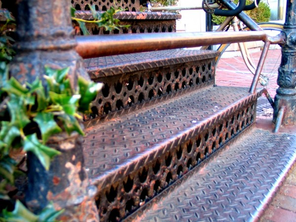 barred stairs