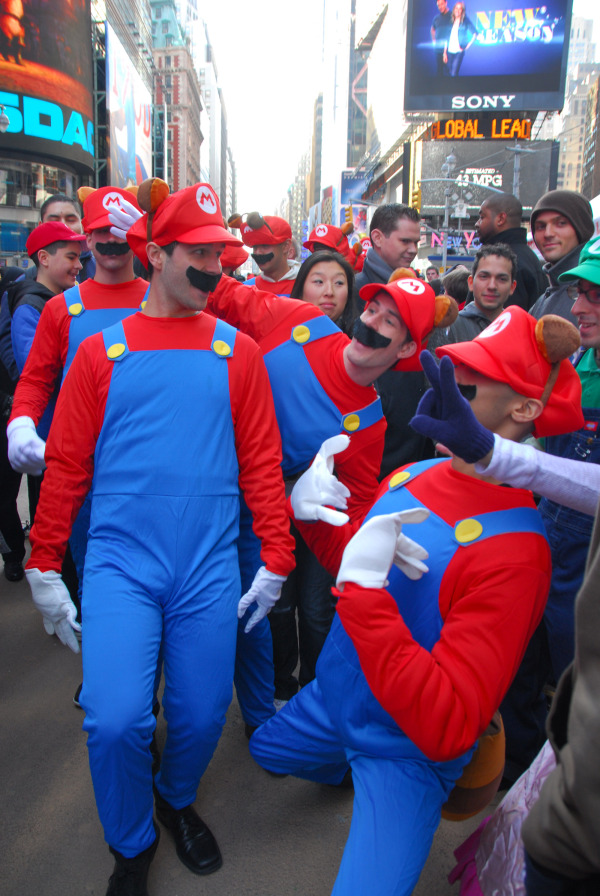 pack of marios