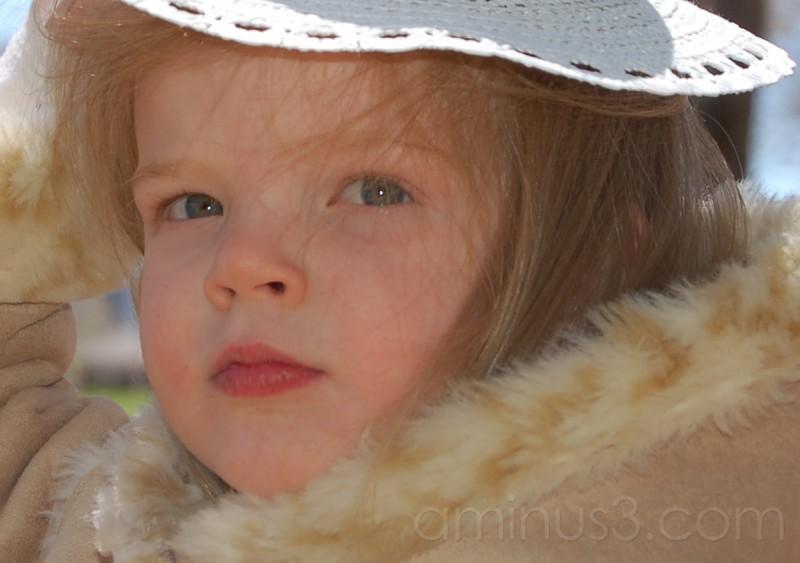 Emma at Easter