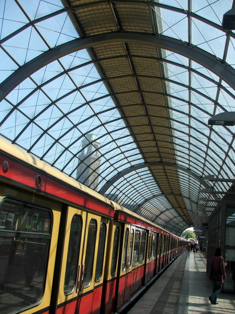 Subway stop Spandau