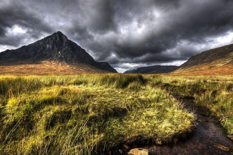 Somewhere in Scotland