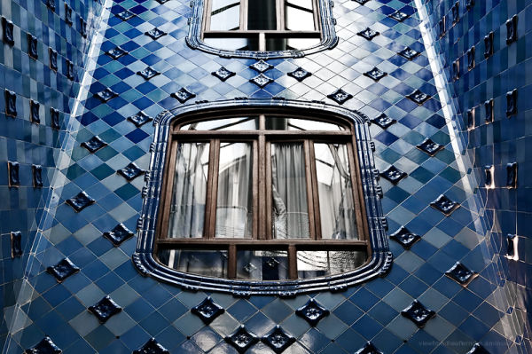 A Light Well in Casa Batllo