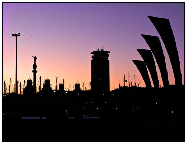 BCN Sunset