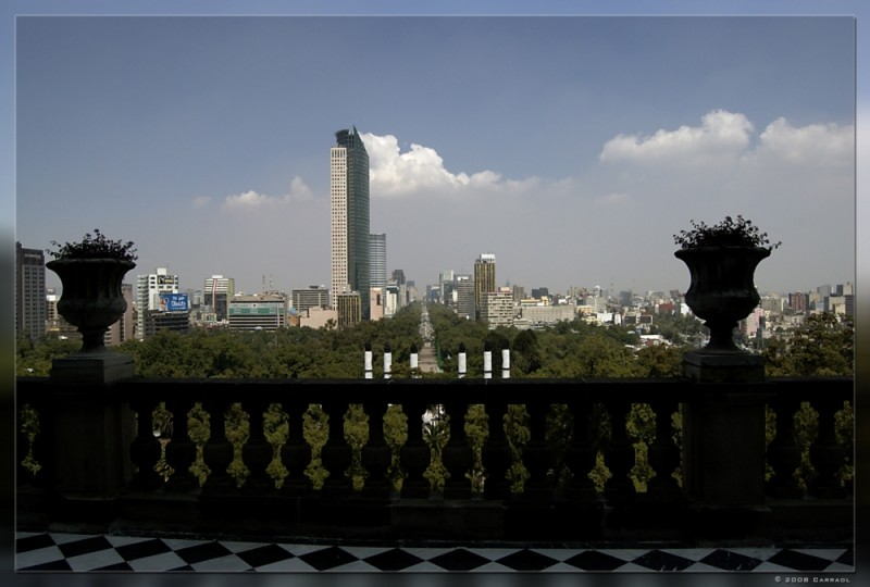 From Chapultepec Castle
