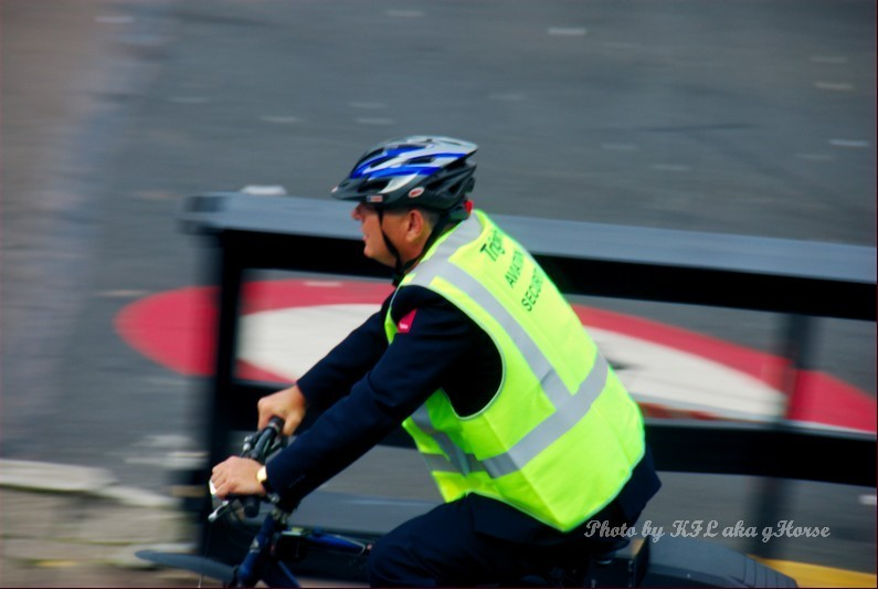 Bicycle Police Airport Amsterdam