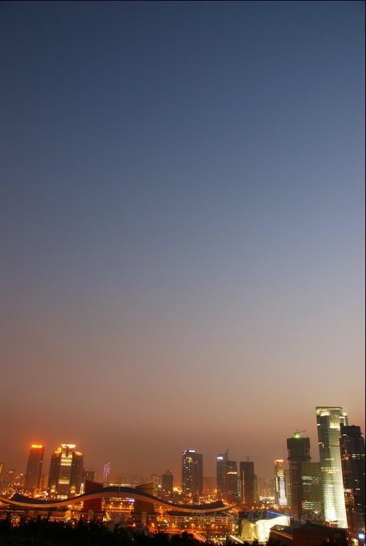 Shenzhen LotusHillGarden Night Sky