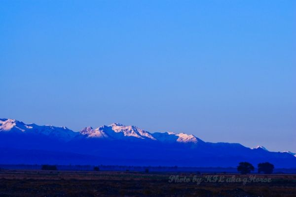 新疆, Xin Jiang, snow, mountain, blue, sky,