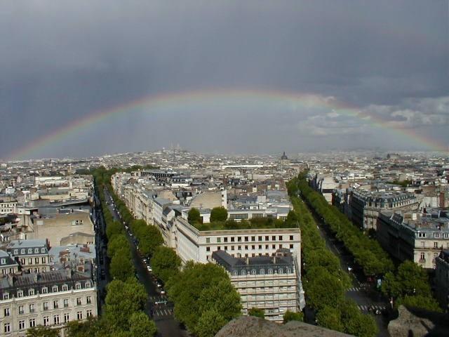 Rainbow over Paris