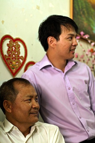 Sheng Hsu Father and Son Portrait