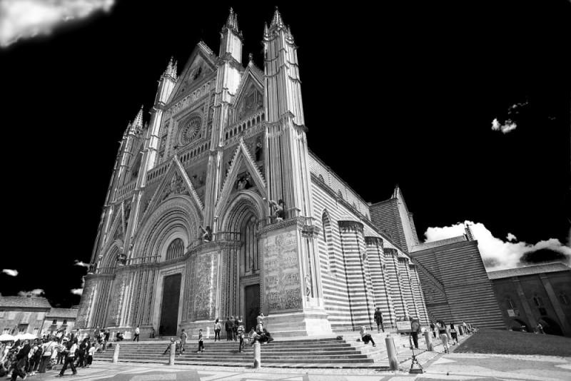 Orvieto duomo, cathedral, Auf dem Brinke