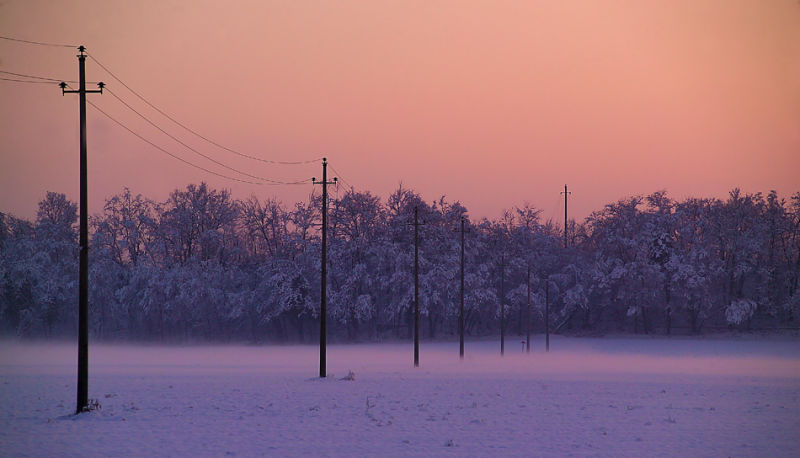 Sunset in Winter