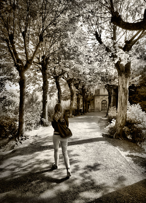 Walking in MOntepulciano