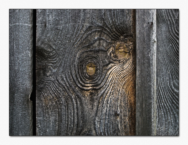 wood faces